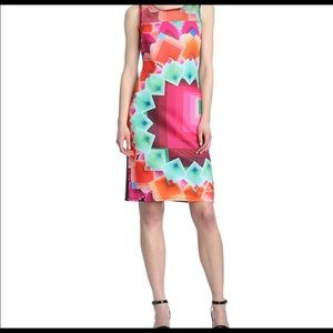 DESIGUAL Geometric minidress